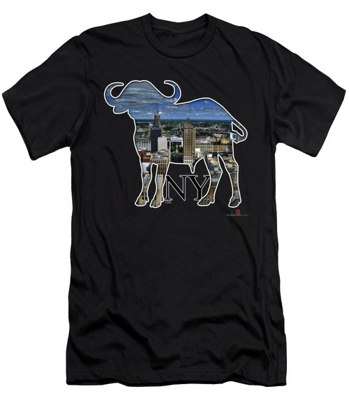 Buffalo Ny Court St Men's T-Shirt (Athletic Fit)