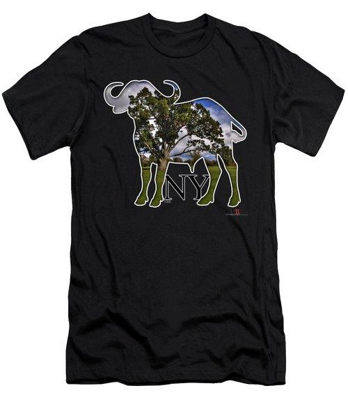 Buffalo Ny Delaware Park Men's T-Shirt (Athletic Fit)