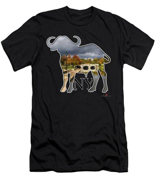 Buffalo Ny Hoyt Lake Men's T-Shirt (Athletic Fit)