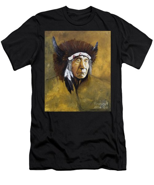 Buffalo Shaman Men's T-Shirt (Athletic Fit)