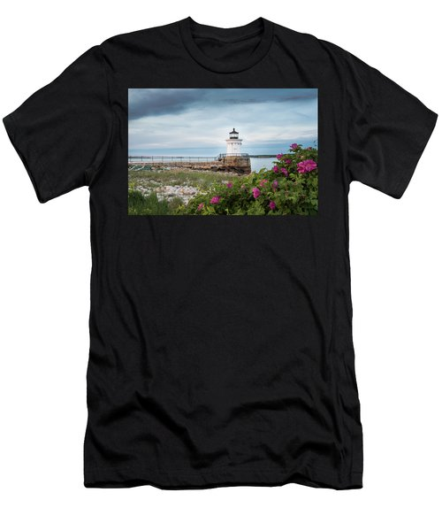 Bug Light Blooms Men's T-Shirt (Athletic Fit)