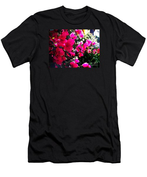 Men's T-Shirt (Slim Fit) featuring the photograph Bugambilia by Vanessa Palomino