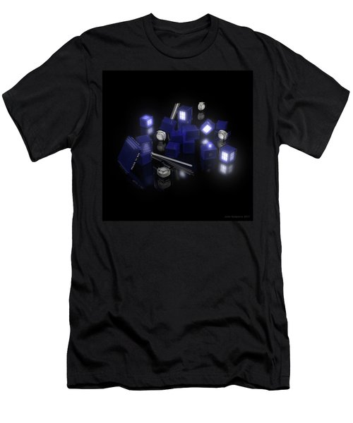Building Blocks Of Space Time Travel Men's T-Shirt (Athletic Fit)
