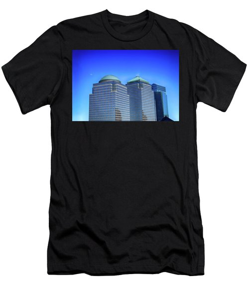 Buildings 2,3,4 In New York's Financial District Men's T-Shirt (Athletic Fit)