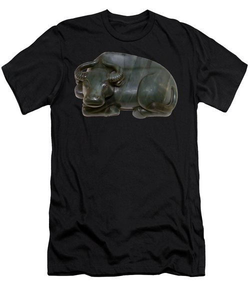 Bull Figure Men's T-Shirt (Athletic Fit)