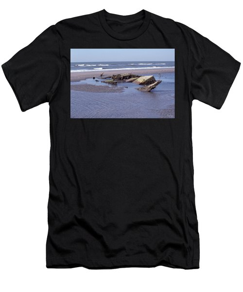 Bull Island 1 Men's T-Shirt (Athletic Fit)