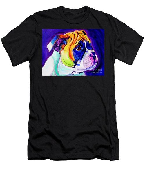 Bulldog - Pup Men's T-Shirt (Athletic Fit)