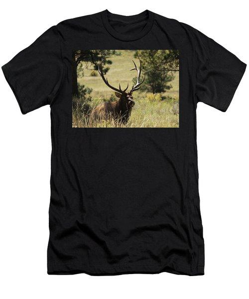 Bullelk1 Men's T-Shirt (Athletic Fit)