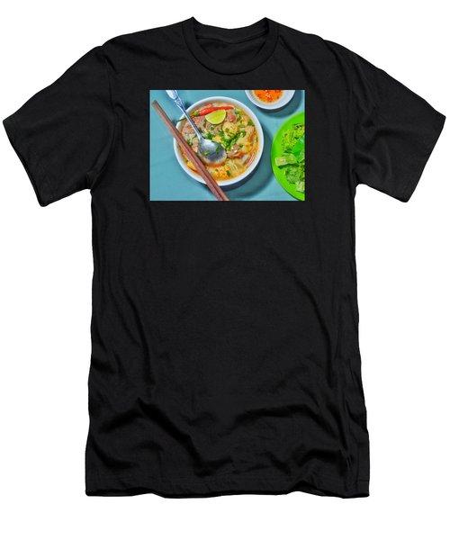 Bun Moc Men's T-Shirt (Athletic Fit)