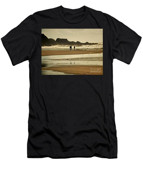 Bunmahon Beach 2  Coppercoast  Men's T-Shirt (Athletic Fit)