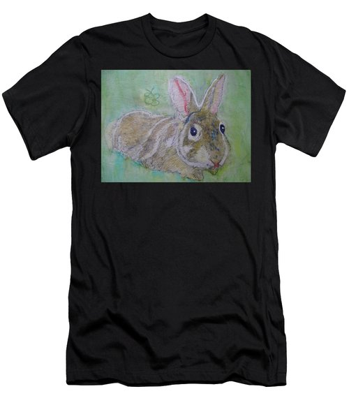 bunny named Rocket Men's T-Shirt (Athletic Fit)