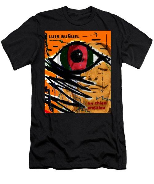 Bunuel Chien Andalou Poster  Men's T-Shirt (Athletic Fit)