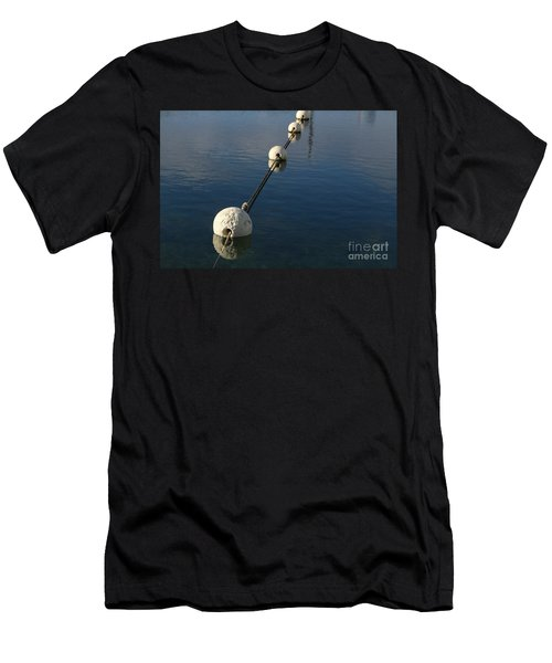 Buoys In Aligtnment Men's T-Shirt (Athletic Fit)