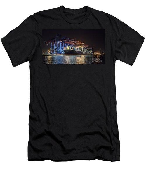 Burchardkai Hamburg Men's T-Shirt (Athletic Fit)