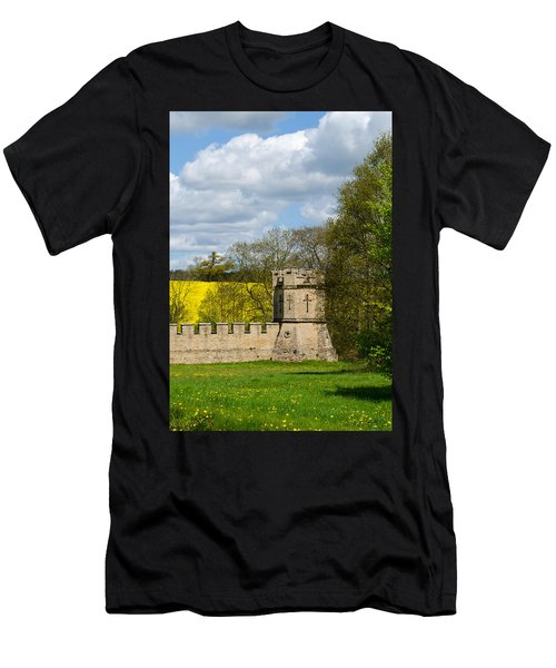 Burghley House Fortifications Men's T-Shirt (Athletic Fit)