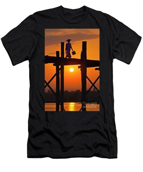 Burma_d807 Men's T-Shirt (Slim Fit) by Craig Lovell