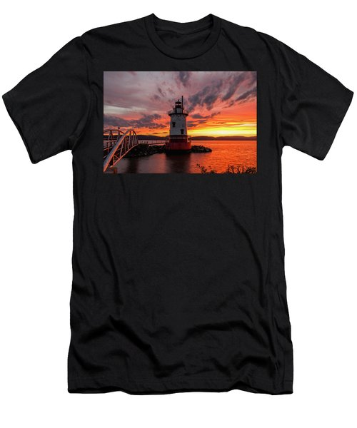 Burn On The Hudson Men's T-Shirt (Athletic Fit)