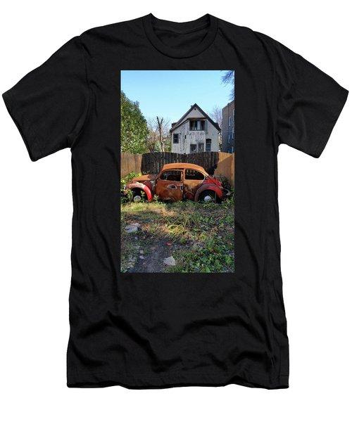 Burned Bug V Men's T-Shirt (Athletic Fit)