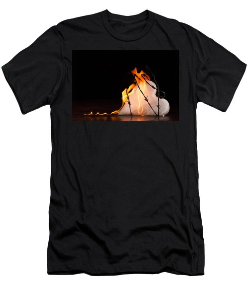 Burning Love Men's T-Shirt (Athletic Fit)