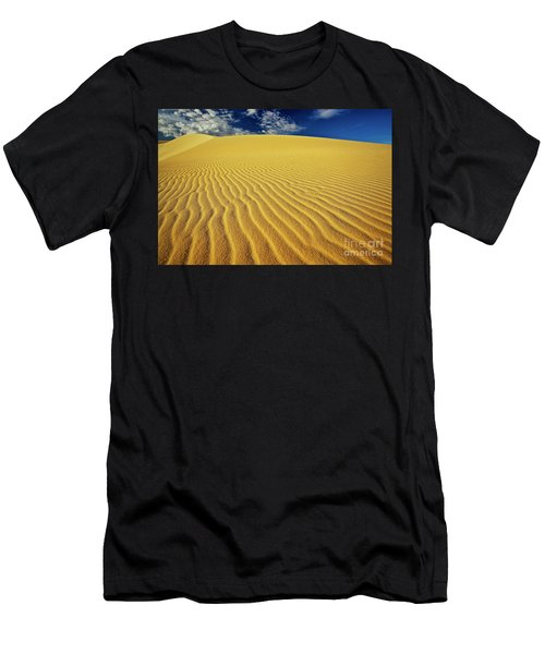 Burning Up At The White Sand Dunes - Mui Ne, Vietnam, Southeast Asia Men's T-Shirt (Athletic Fit)