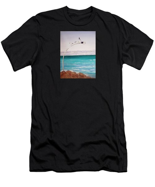 Burns Beach Men's T-Shirt (Athletic Fit)