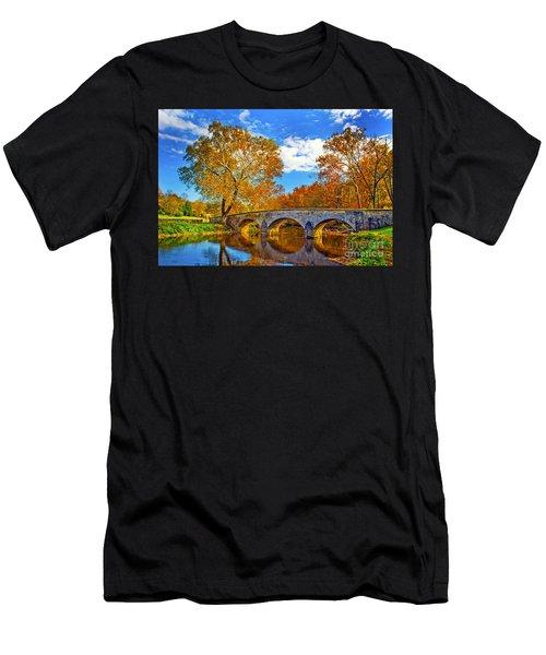 Burnside Bridge At Antietam Men's T-Shirt (Athletic Fit)