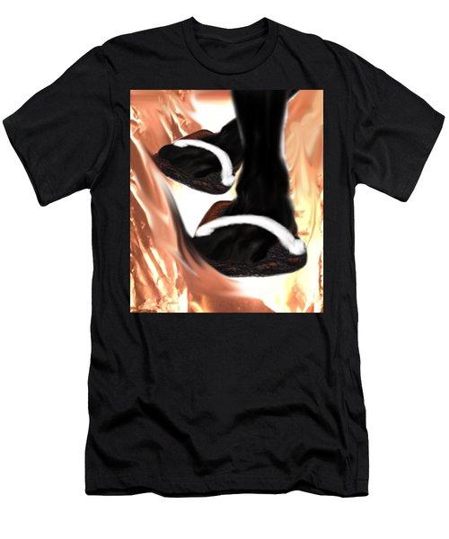 Burnt Toast Men's T-Shirt (Athletic Fit)