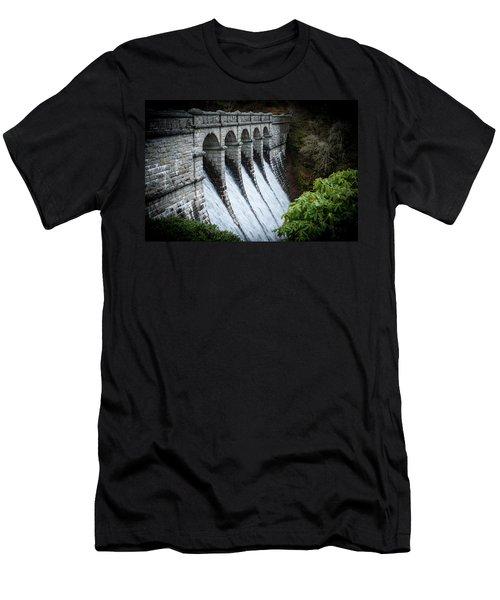 Burrator Reservoir Dam Men's T-Shirt (Athletic Fit)