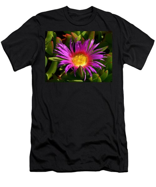 Men's T-Shirt (Slim Fit) featuring the photograph Burst Of Beauty by Debbie Karnes