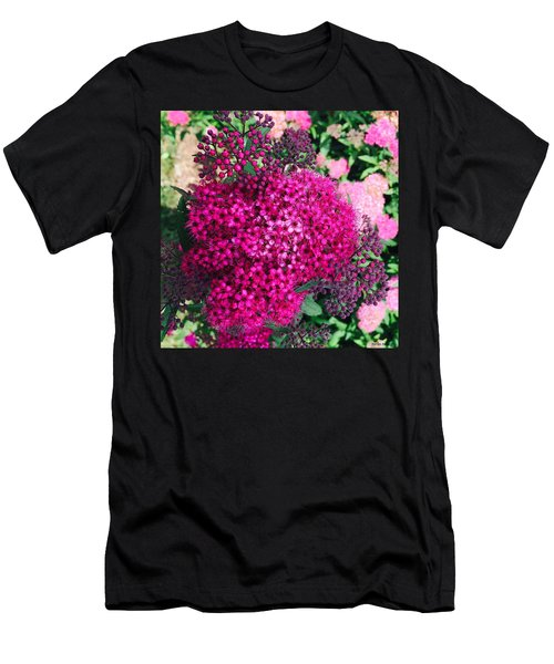 Burst Of Pink Delight Men's T-Shirt (Athletic Fit)