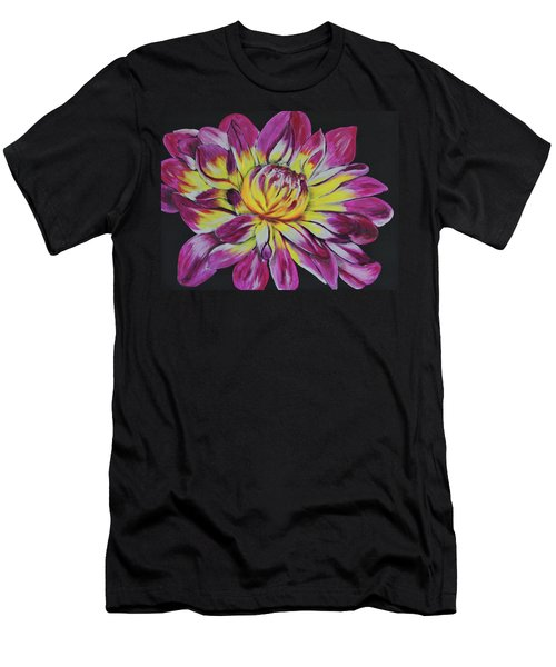 Bursting Bloom Men's T-Shirt (Athletic Fit)