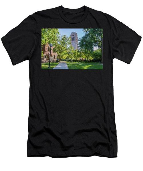Burton Memorial Tower 1 University Of Michigan  Men's T-Shirt (Athletic Fit)
