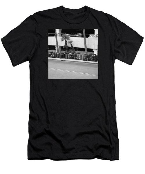 Bus Station Men's T-Shirt (Athletic Fit)