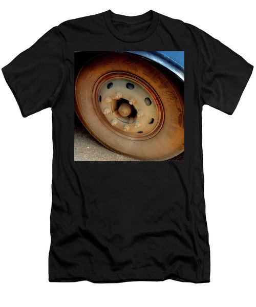 Bus Tyre Men's T-Shirt (Athletic Fit)