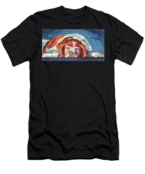 Bushed Men's T-Shirt (Athletic Fit)
