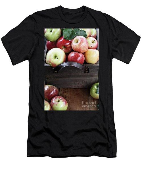 Bushel Of Apples  Men's T-Shirt (Athletic Fit)
