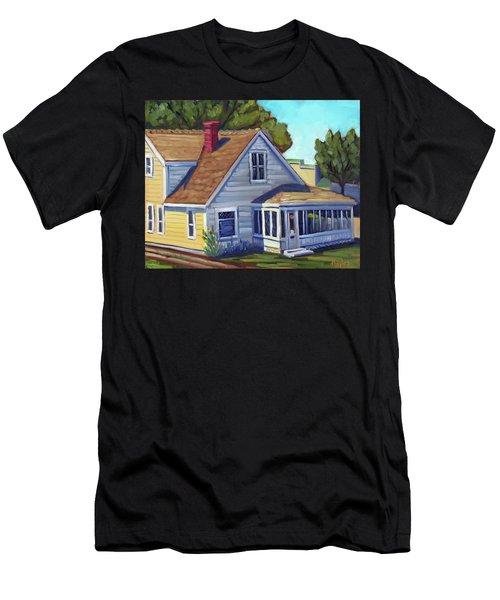 Bushnell House - Eagle Idaho Men's T-Shirt (Athletic Fit)