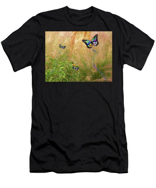 Buterflies Dream Men's T-Shirt (Athletic Fit)