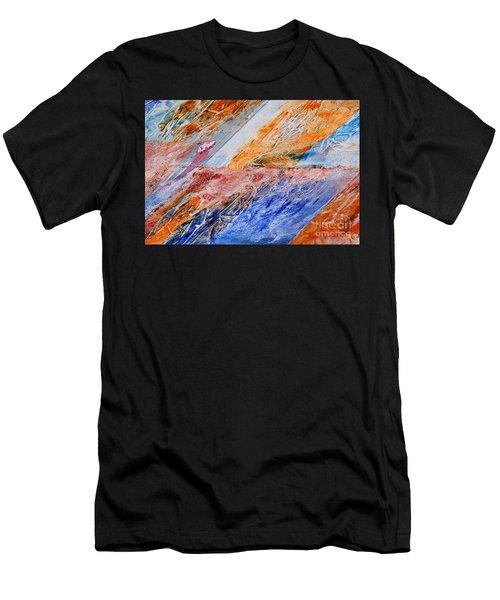 Butter-flight Men's T-Shirt (Athletic Fit)