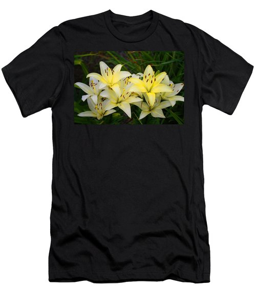Men's T-Shirt (Slim Fit) featuring the photograph Buttercreams by Kathryn Meyer