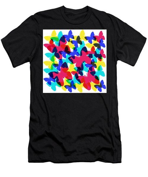 Butterflies Men's T-Shirt (Athletic Fit)