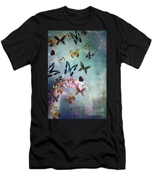 Butterflies Reborn Men's T-Shirt (Athletic Fit)
