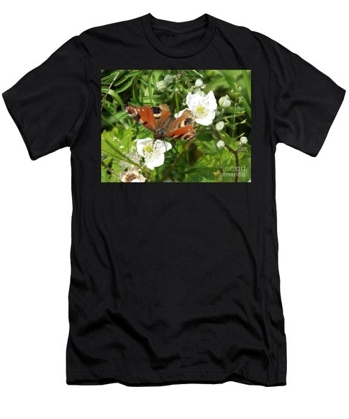 Butterflower Men's T-Shirt (Athletic Fit)