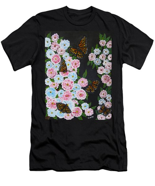 Butterfly Beauty Men's T-Shirt (Athletic Fit)