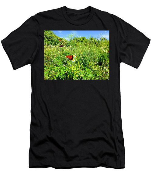 Butterfly Bonanza Men's T-Shirt (Athletic Fit)
