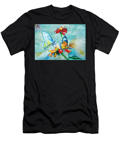 Butterfly Dance Men's T-Shirt (Athletic Fit)