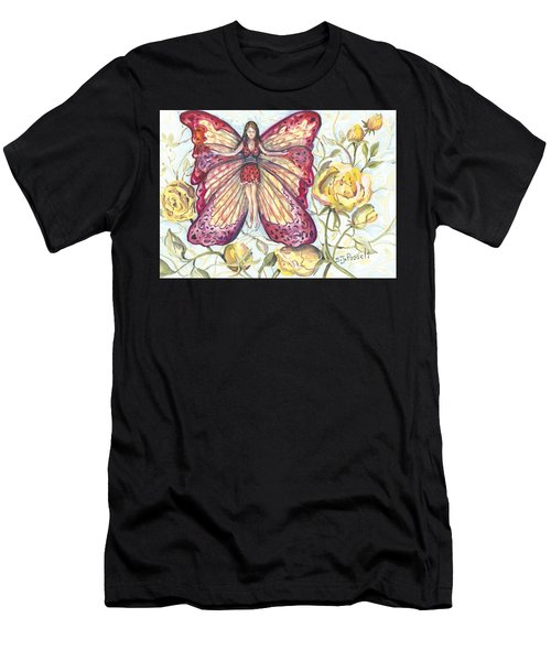 Butterfly Grace Fairy Men's T-Shirt (Athletic Fit)