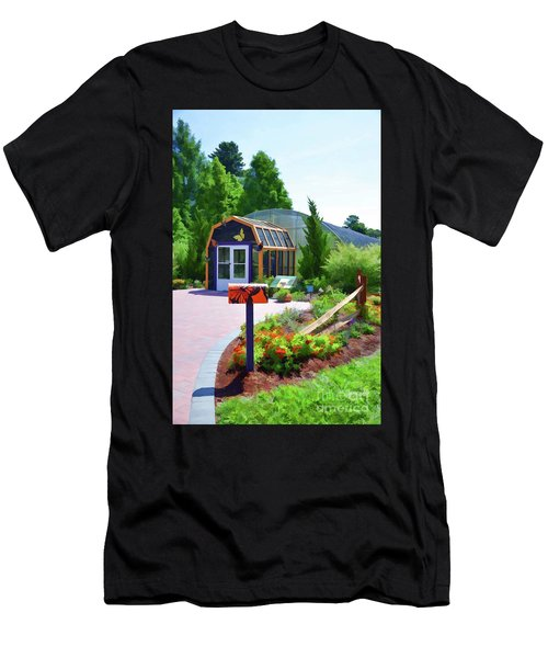 Butterfly House 1 Men's T-Shirt (Athletic Fit)