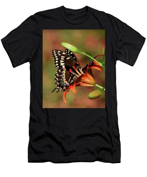 Butterfly Kiss 2 Men's T-Shirt (Athletic Fit)