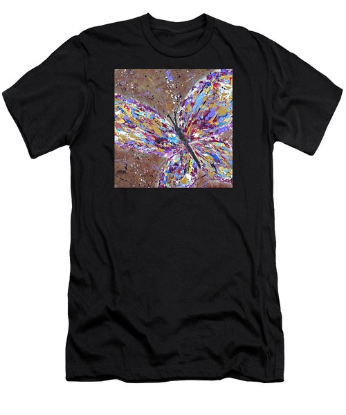 Butterfly Magic Men's T-Shirt (Athletic Fit)